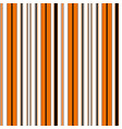 halloween stripe seamless pattern vector image