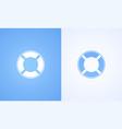 icon of lifebuoy vector image vector image