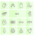 new icons vector image vector image