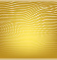 polygonal space low poly yellow background with vector image vector image