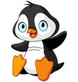 Baby penguin vector image vector image