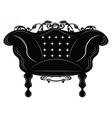 Baroque Imperial armchair vector image vector image