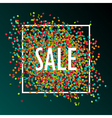 celebration sale vector image vector image