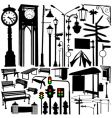 City objects and accessories vector | Price: 1 Credit (USD $1)