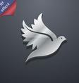 Dove icon symbol 3D style Trendy modern design vector image vector image