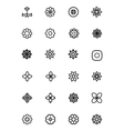 Flowers and Floral Line Icons 2 vector image vector image