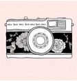 illustrative camera vector image vector image