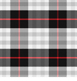 seamless pattern Scottish tartan 2 vector image vector image