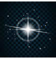 Shine star sparkle icon 15 vector image vector image
