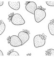 beautiful seamless pattern cartoon black and vector image vector image
