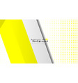 bright abstract background template yellow with vector image