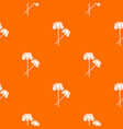 carnation pattern seamless vector image vector image