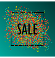 celebration sale1 vector image vector image