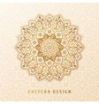 Ethnic pattern mandala design for vector image vector image