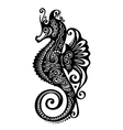 Ornate Sea Horse vector image vector image