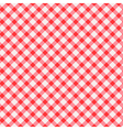 Tablecloth seamless background vector image