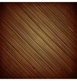Wooden plank dark background vector image vector image