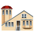 A commercial property vector image vector image