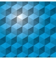 abstract polygon pattern icon vector image vector image