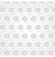 Abstract tech background grey circles texture vector image vector image