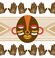 african culture vector image