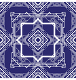 art deco blue vector image vector image