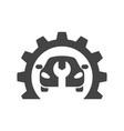car repair abstract logo design concept vector image vector image