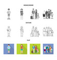 character and avatar symbol vector image vector image
