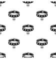 Dog collar icon in black style for web vector image vector image