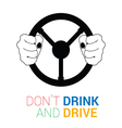 drink and drive icon vector image