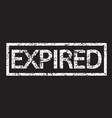 expired stamp word vector image