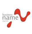 Innovation trickling letter logo vector image vector image