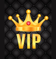 vip abstract quilted background vector image vector image