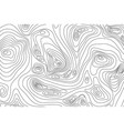 wavy topography relief outline cartography vector image vector image