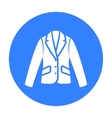 Business jacket icon of for vector image vector image