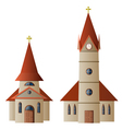 Church and Chapel vector image