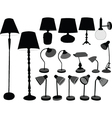 lamps collection - vector image vector image