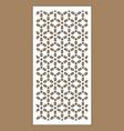 laser pattern decorative panel for laser vector image vector image