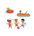 Summer Fun and Entertainments vector image