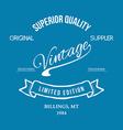 Vintage retro t-shirt typography