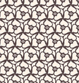 Floral seamless pattern background Retro style vector image