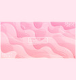 abstract liquid gradient lines with pink vector image vector image