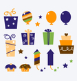 celebration gifts vector image vector image
