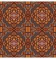 seamless indian ethnic tribal Geometric print vector image vector image