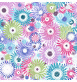 Seamless mix floral vector image
