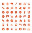 49 idea icons vector image vector image