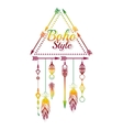 boho style design vector image vector image