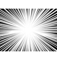 comic book radial lines comics background with vector image vector image