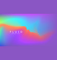 digital gradient background shape holographic vector image