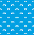 industrial building pattern seamless blue vector image vector image